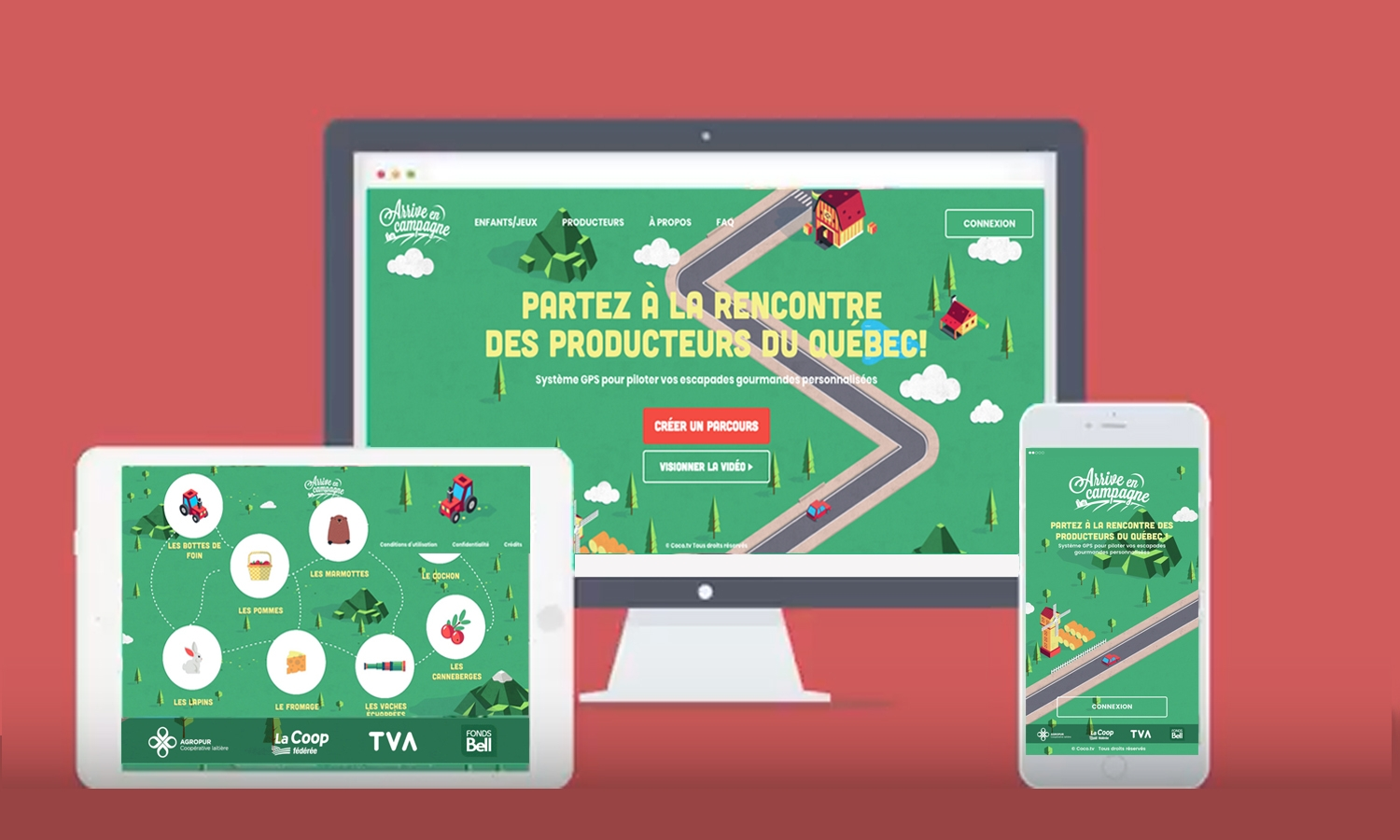 L'APPLICATION MOBILE ARRIVE EN CAMPAGNE FINALISTE AU PRIX NUMIX